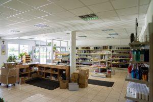Notranjost prodajalne Pobrežje - Videm pri Ptuju